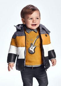 Pulover cu chitară, bebe băiat, Mayoral
