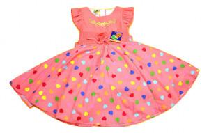 Rochie cu inimioare multicolore