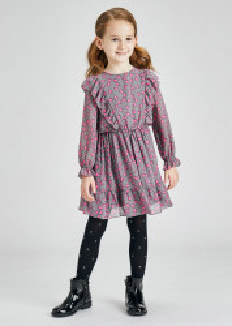 Rochie elegantă cu imprimeu pentru fată, Mayoral