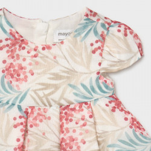Rochie inflorata de nou nascut fetita Mayoral