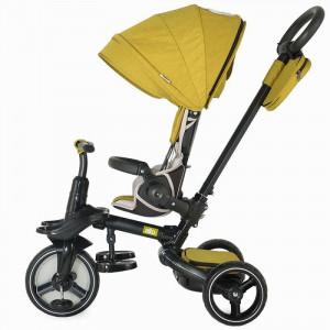 Tricicleta multifunctionala COCCOLLE Alto mustar