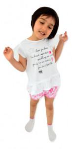 Tricou copii fete , IDO , bumbac