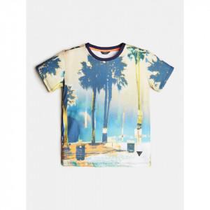 Tricou Guess cu palmier