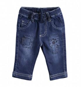 Blue jeans bebe băiat nou născut din bumbac, iDO