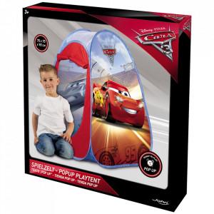 Cort de joaca John Cars 75x75x90 cm