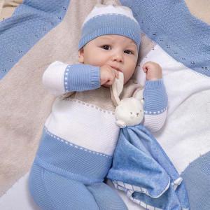 Costum tricotat de nou născut băiat, Mayoral