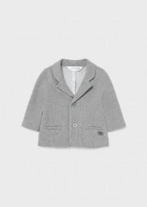 Jachetă gri pentru nou-născut băiat, Mayoral