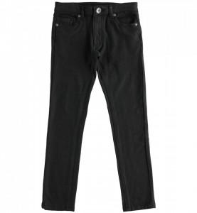 Pantalon negru baieti slim brand IDO