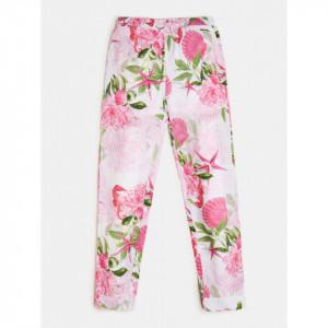 Pantaloni Guess inflorati