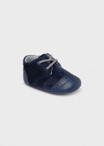 Pantofi cu șiret pentru bebe băiat, Mayoral