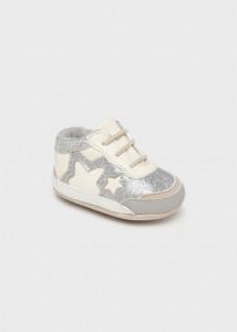 Pantofi sport cu șiret pentru nou-născut fată, Mayoral