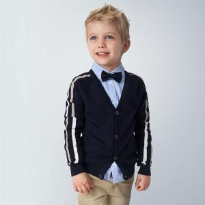 Pulover bleumarin tricotat, Mayoral