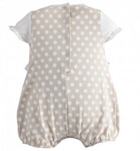 Salopeta de vara pentru bebelusi noi nascuti IDO