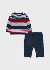 Set din pulover și pantaloni pentru nou-născut băiat, Mayoral