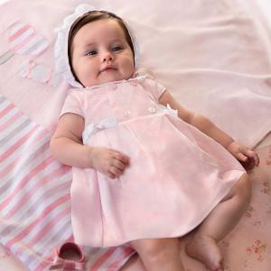 Set rochita, chilotei pentru fetita