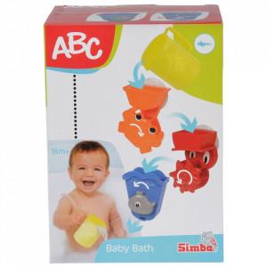 Set Simba Jucarii de baie ABC Baby Bath