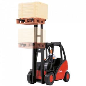 Stivuitor Dickie Toys Cargo Lifter cu accesorii