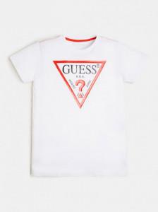 Tricou Guess cu logo pe piept
