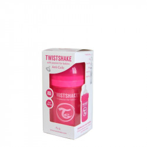 Biberon Twistshake Anti - Colici 180 ml Portocaliu