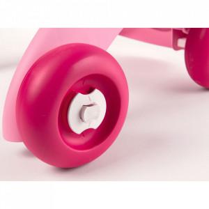 Carucior pentru papusi Smoby Minikiss 3 in 1 roz