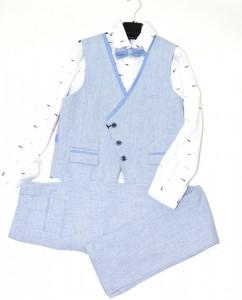 Costum elegant de copii cu 4 piese