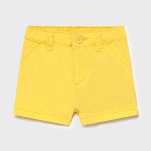 Pantalon scurt galben pentru baiat