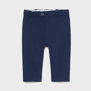 Pantaloni nou nascut baiat bleumarin Mayoral