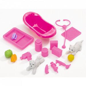 Papusa Simba Steffi Love Animal Doctor 29 cm cu accesorii