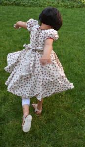 Rochițe de vară cu imprimeu floral