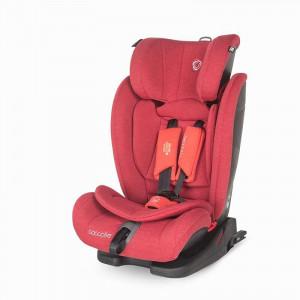 Scaun auto cu Isofix grupa 9-36 kg Elara Aurora Red