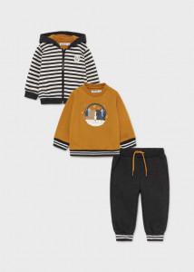 Trening cu bluză dublă pentru bebe băiat, Mayoral
