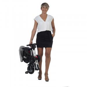 Tricicleta ultrapliabila Qplay Nova gri