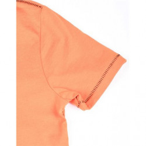 Tricou de baieti pe fond negru sau portocaliu GUESS