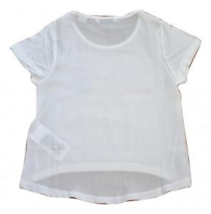 Tricou Guess alb logo