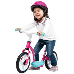 Bicicleta fara pedale Smoby Comfort pink