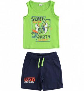 Costum băieți format din maiou și pantalon scurt, iDO