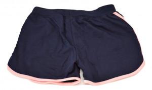 Pantalon scurt din bumbac, bleumarin