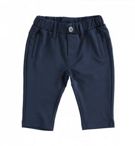 Pantaloni eleganți lungi bleumarin, IDO