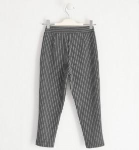 Pantaloni pentru adolescente, gri pipit, IDO