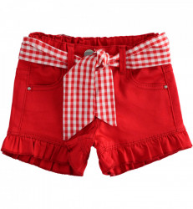 Pantaloni scurti , Ido , tercot , fata