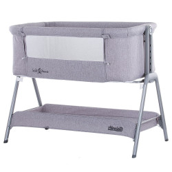 Patut Co-Sleeper Chipolino Sweet Dreams grey