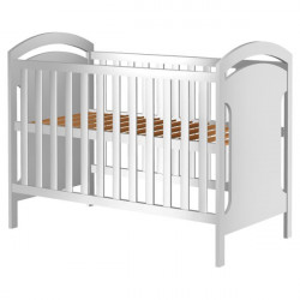Patut copii din lemn Hubners Hansell 120x60 cm alb