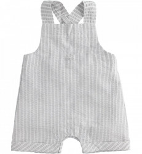 Salopeta cu pantalon scurt, eleganta pentru bebe baiat nou nascut IDO