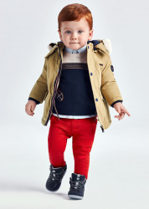 Set pantaloni lungi cu pulover bebe băiat, Mayoral