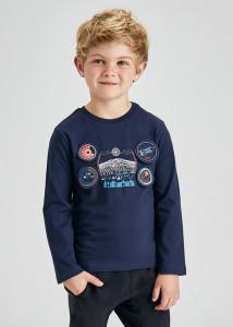 Tricou ECOFRIENDS maneca lungă cu aplicație pe piept pentru băiat, Mayoral