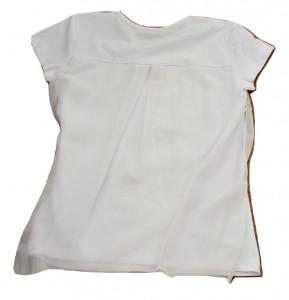 Tricou fete alb vual