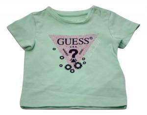 Tricou Guess, pentru fete, verde