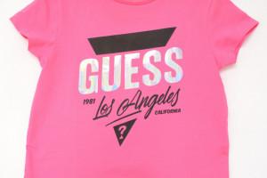 Tricou Guess roz aprins