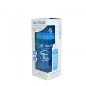 Biberon Twistshake Anti - Colici 260 ml Portocaliu