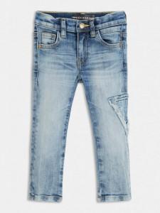 Blue Jeans slim pentru băieți, culoare deschisă, Guess